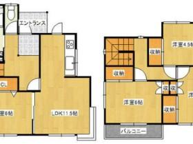 高野アパート図面