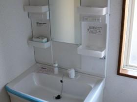 高野アパート洗面